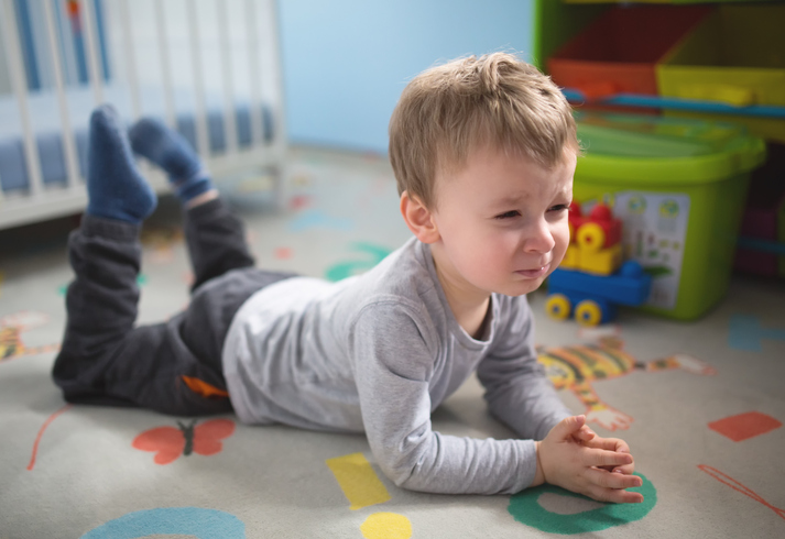 How to cope with baby whining?