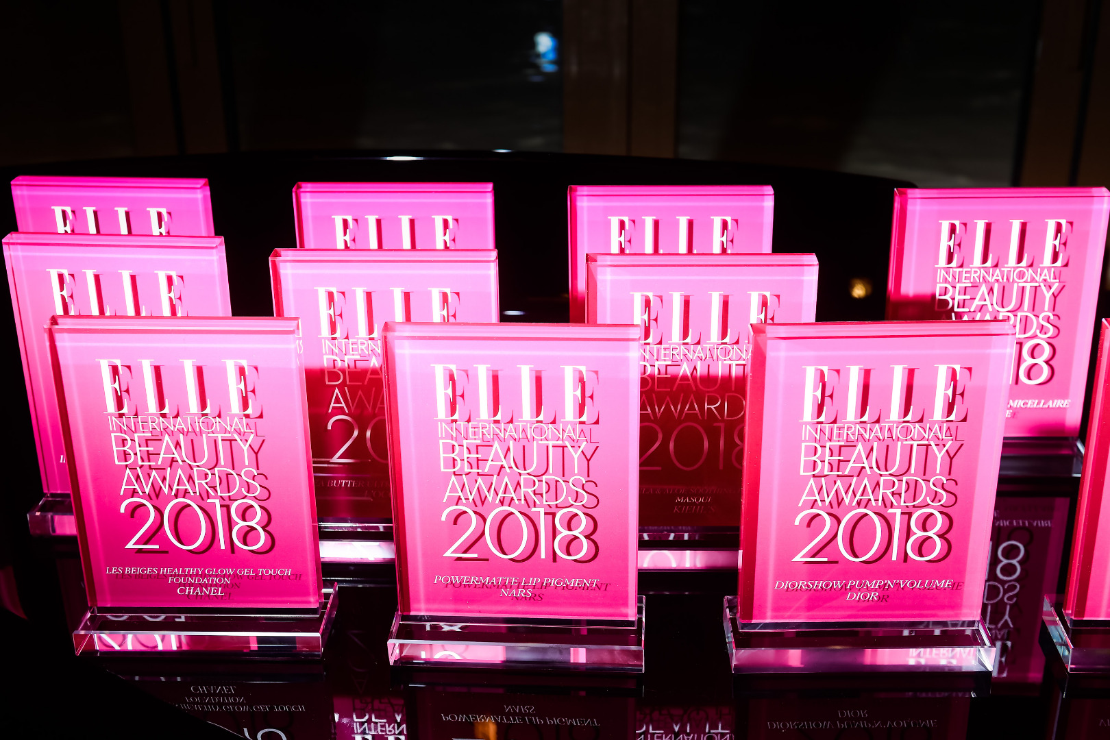 Elle Beauty International Awards: awards given