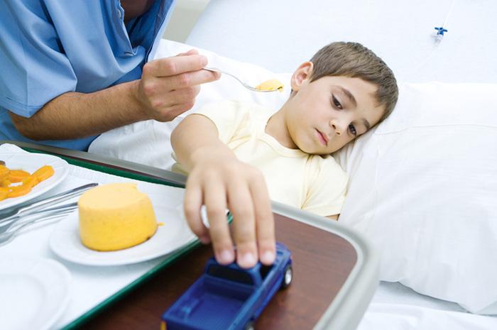Малыш плохо ест во время болезни