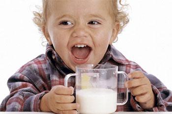 Козье молоко в детском меню