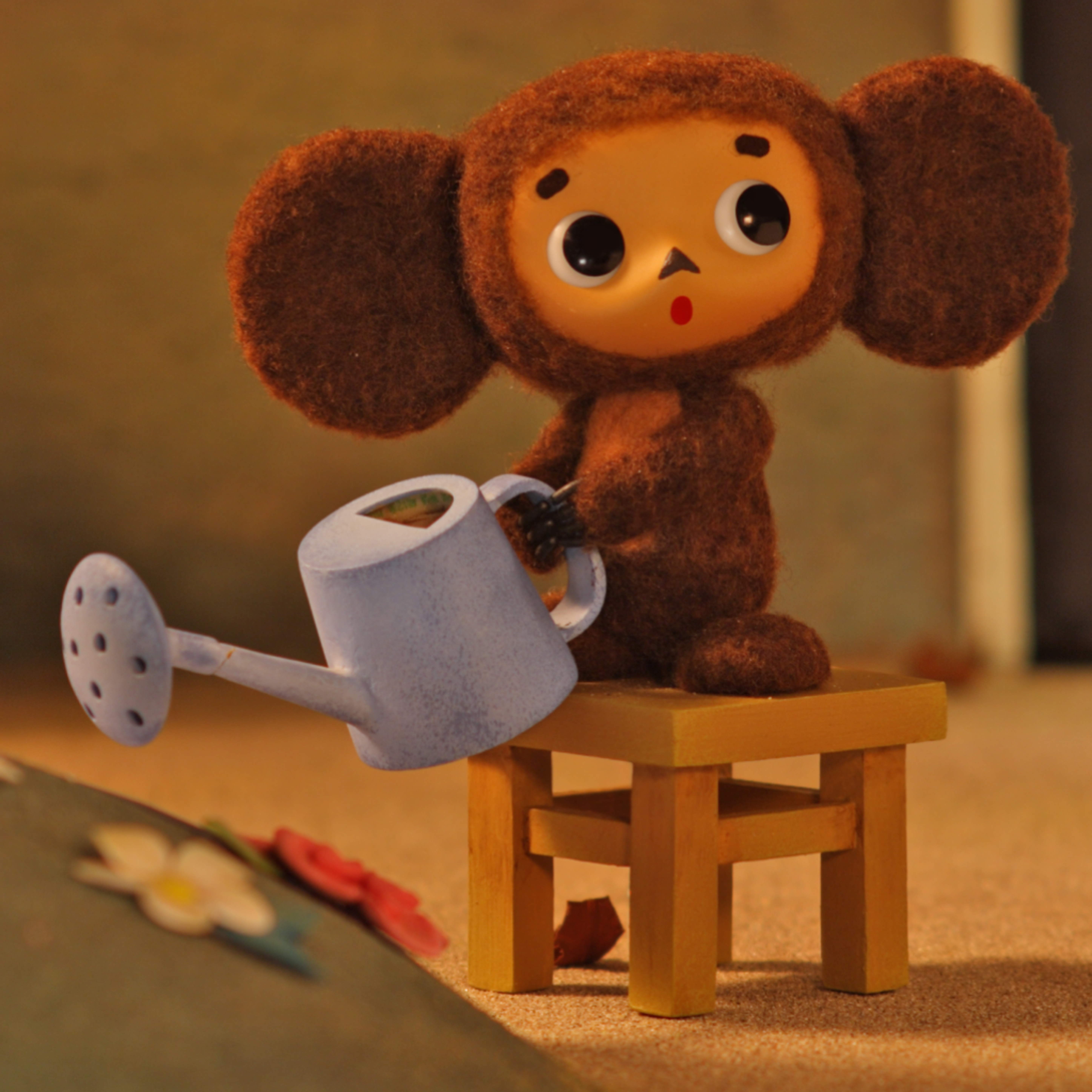 A new cartoon about Cheburashka is coming out.