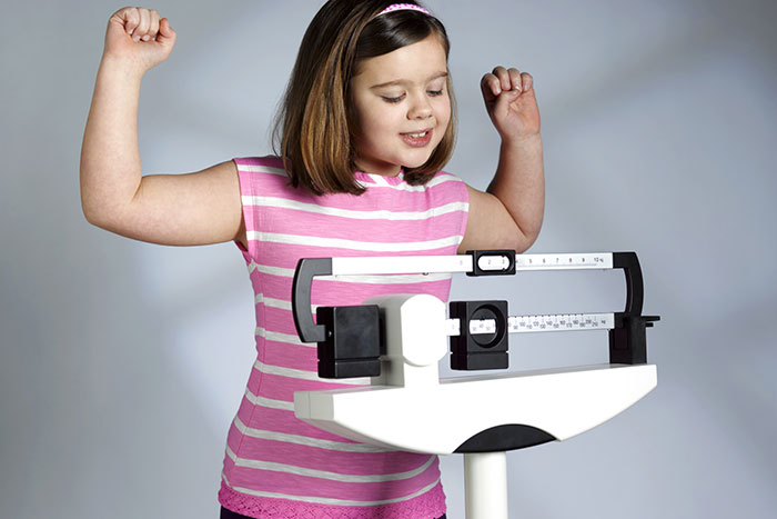 How to help lose weight fat child