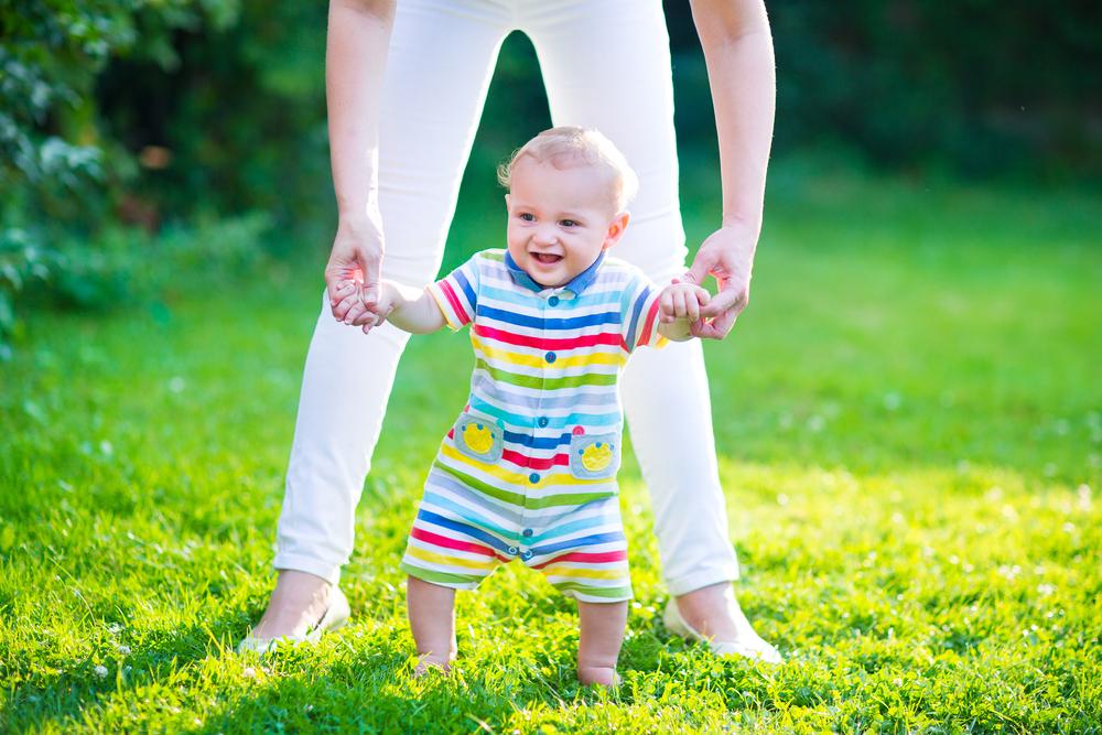 Когда ребенок научится ходить